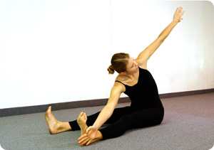 Picture of a mat exercise